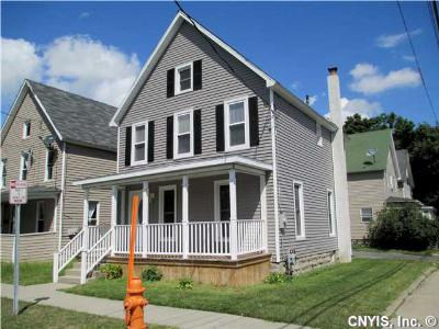 Watertown-City NY Single Family Home Sold: $117,800