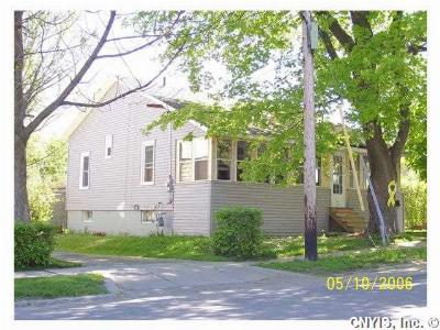 Watertown-City NY Single Family Home Sold: $109,900