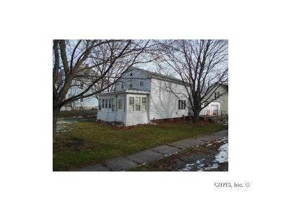 Seneca Falls NY Single Family Home A-Active: $62,900