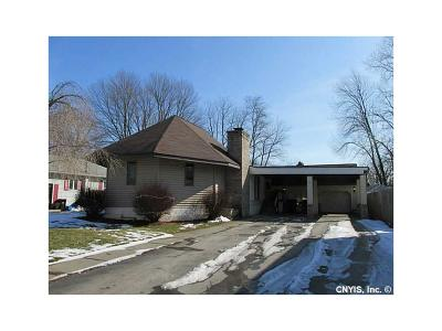 Waterloo NY Single Family Home A-Active: $129,900
