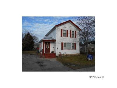 Waterloo NY Single Family Home A-Active: $61,000