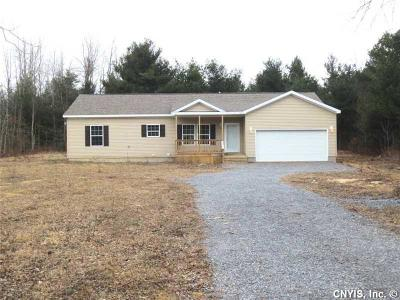 Single Family Home S-Closed/Rented: 31444 Nys Route 3