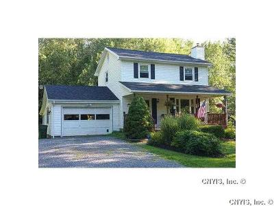 Waterloo NY Single Family Home A-Active: $124,900
