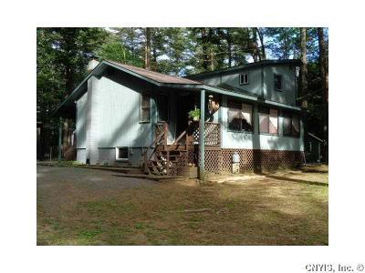 Single Family Home A-Active: 7940 Pleasant Lake Road
