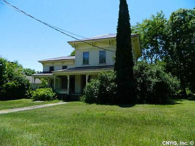 Jefferson County, Lewis County Single Family Home A-Active: 8276 State Route 3