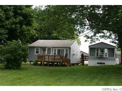 Cape Vincent Single Family Home A-Active: 2280 Rock Bed & Bates Road