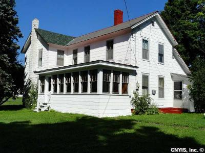 Lowville NY Single Family Home Sold: $77,000