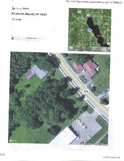 Mayville Residential Lots & Land For Sale: West Lake Road