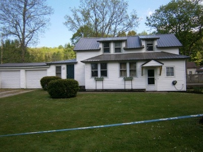 Bemus Point NY Single Family Home For Sale: $89,900
