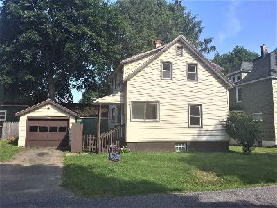 Jamestown NY Single Family Home For Sale: $39,900