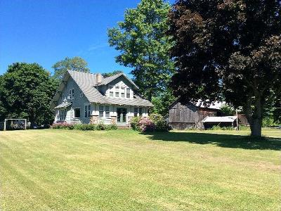 Mayville Single Family Home For Sale: 4329 W. Lake Rd.