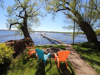 Lake/Water For Sale: 5933 Akam Galloway Road