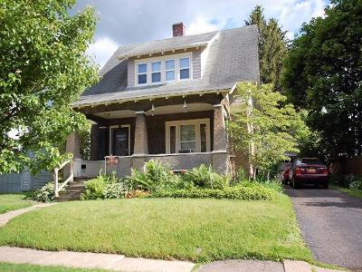 Jamestown NY Single Family Home For Sale: $54,500