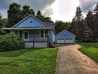 Ashville NY Single Family Home For Sale: $63,000