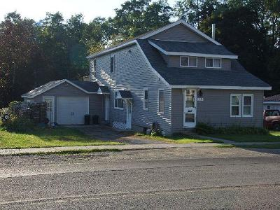 Sinclairville NY Single Family Home For Sale: $99,500