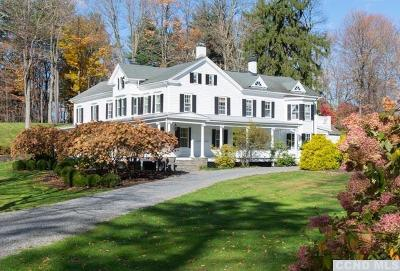Rhinebeck NY Single Family Home For Sale: $2,750,000