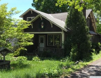 Catskill NY Single Family Home For Sale: $125,000