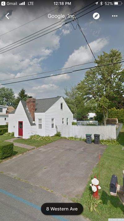 Albany County Single Family Home For Sale: 11 Western Avenue