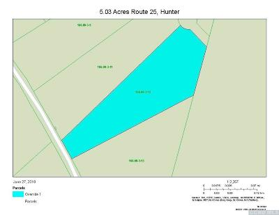 Hunter Residential Lots & Land For Sale: Route 25