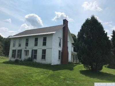 Rensselaer County Single Family Home For Sale: 5420 S Stephentown Road
