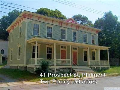Philmont NY Multi Family Home For Sale: $135,000