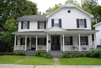 Chatham Multi Family Home For Sale: 52 Kinderhook Street