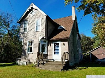 Stuyvesant Falls NY Single Family Home Accpt Offer Ok 2 Sho: $149,900