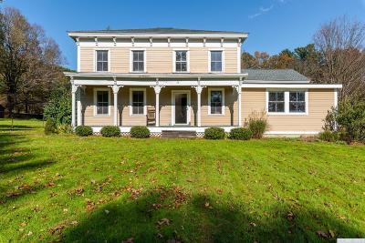Columbia County Single Family Home For Sale: 76 Albany Turnpike Turnpike