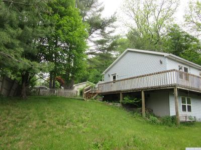 Greenville NY Single Family Home For Sale: $165,000
