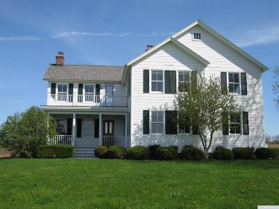 Columbia County Single Family Home For Sale: 69 Stuyvesant Falls Road