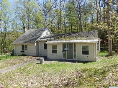 Coxsackie NY Single Family Home For Sale: $173,500