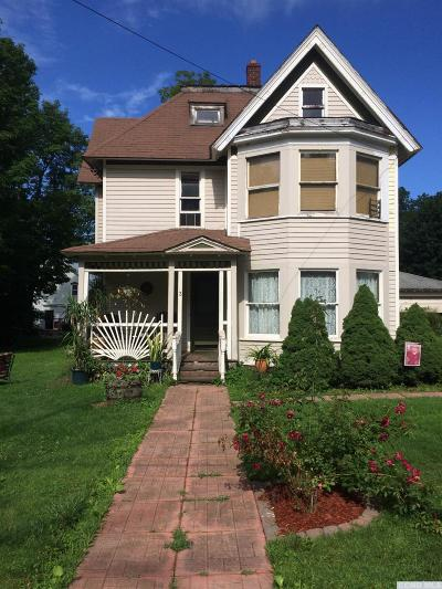 Stamford NY Single Family Home For Sale: $86,000