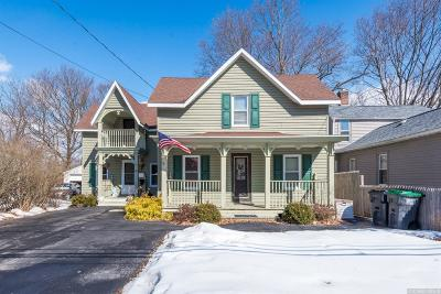 Rensselaer County Single Family Home For Sale: 47 Scott Ave