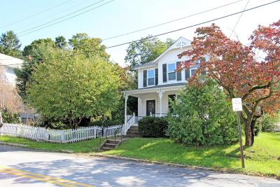 Rhinebeck Single Family Home For Sale: 12 Charles St