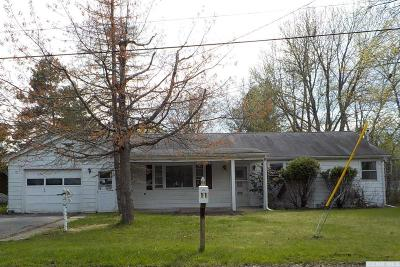 Hudson NY Single Family Home For Sale: $72,500