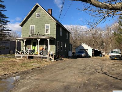 Millerton NY Single Family Home For Sale: $149,000