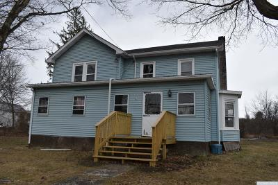 Greenville NY Single Family Home For Sale: $109,000