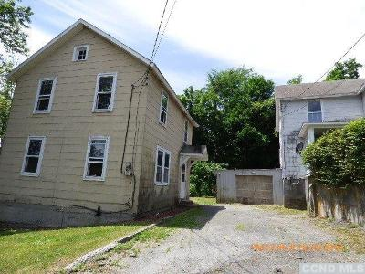 Catskill Single Family Home For Sale: 8 Short Street