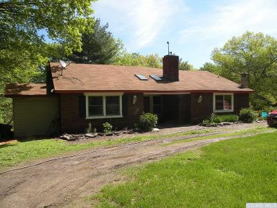 Columbia County Single Family Home For Sale: 284 Hall Hill Road