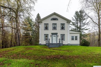 Rensselaer County Single Family Home For Sale: 477 Central Nassau Road