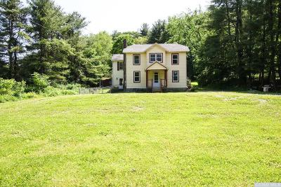 Canaan NY Single Family Home For Sale: $190,000