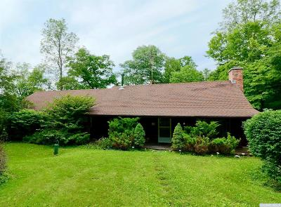 Columbia County Single Family Home For Sale: 284 Hall Hill Rd, Stop 18