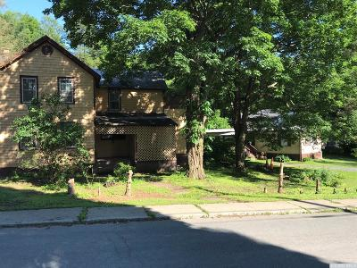Claverack NY Single Family Home For Sale: $225,000