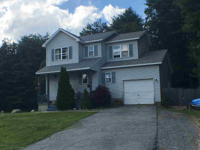 Warrensburg NY Single Family Home Active-Under Contract: $120,900