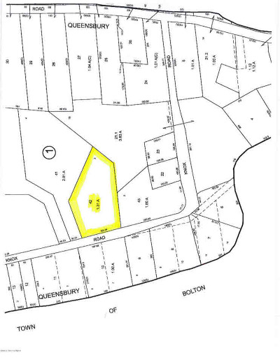 Queensbury Residential Lots & Land For Sale: 46 Knox Rd