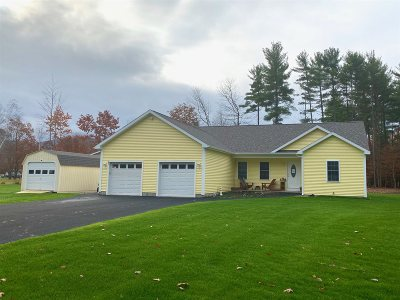 Hadley NY Single Family Home For Sale: $229,900
