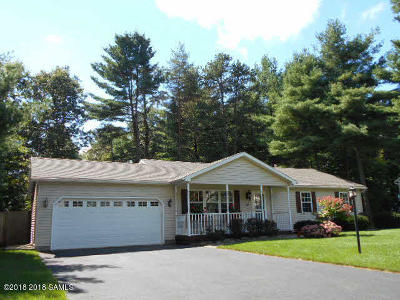Queensbury, Fort Ann Single Family Home Price Change: 38 Fawn La
