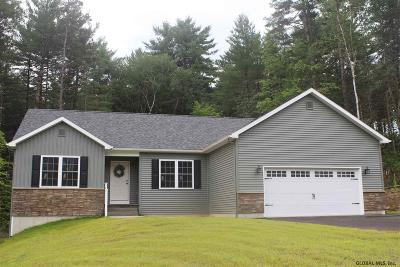 Queensbury, Fort Ann Single Family Home For Sale: 47 John Clendon Rd