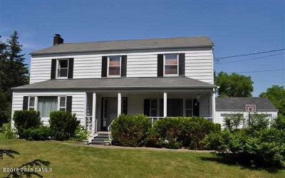 Greenfield, Corinth, Corinth Tov Single Family Home For Sale: 4099 Nys Rt 9n