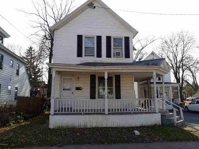 Glens Falls Multi Family Home Active-Under Contract: 7 Fulton St